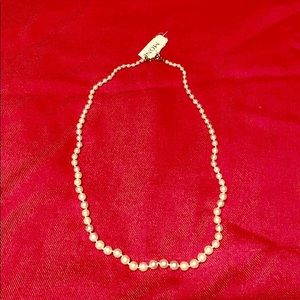 NWT Monet Pearl Necklace